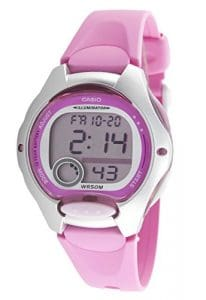Casio – LW-200-4B – Sports – Montre Femme – Quartz Digital – Cadran LCD – Bracelet Résine Rose