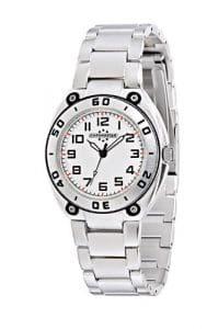 Chronostar – R3753224245 – Alluminium – Montre Mixte – Quartz Analogique – Cadran Blanc / Noir – Bracelet en Aluminium