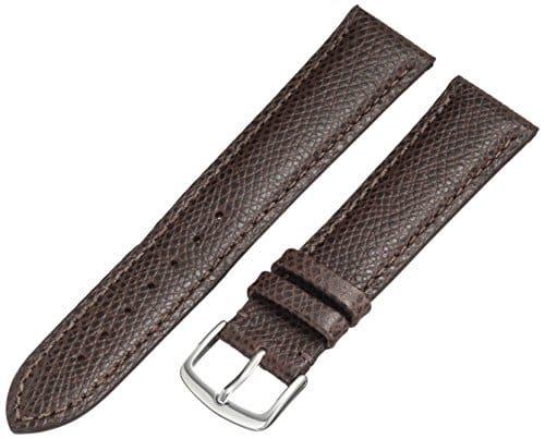 Hadley-Roma ms2045rz 20020mm pour Montre en cuir vachette marron
