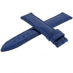 Montre Franck Muller – Affichage bracelet Cuir Bleu et Cadran 02B