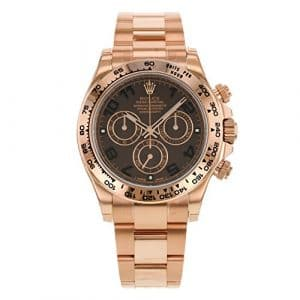 Rolex Daytona 116505 Cho 18 K Or Everose automatique unisexe montre