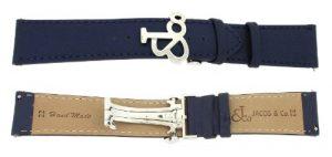 Montre Jacob & Co. – Affichage bracelet Bleu et Cadran JCBBlueS22