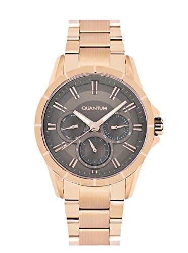 Quantum–Bracelet Fille Montre Impulse Chronographe Quartz Acier Inoxydable Revêtement iml461.440