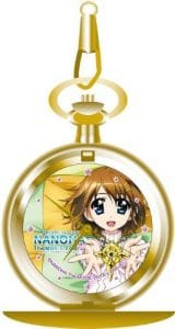 The MOVIE 2nd A's relief pocket watch Magical Girl Lyrical Nanoha Yagami Hayate (japan import)