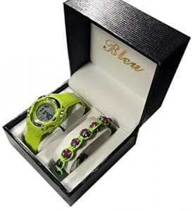 COFFRET MONTRE ENFANT DIGITALE PLUS BRACELET SHAMBALLA LONDON UK