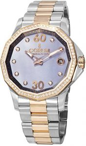 Corum Admirals Cup Femme Diamants 38mm Automatique Montre 082.101.29-V200PK10