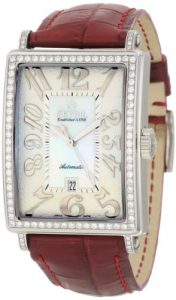 Gevril Femmes 6209NL Glamour blancs automatique Diamond Watch