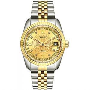 (MOERS) HS8260-1 Hommes Montres mécaniques automatique classique Sapphire Waterproof Mirror Scratch Watch , 3
