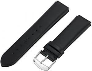 Philip Stein 1-cimb 18mm pour Montre en cuir vachette noir