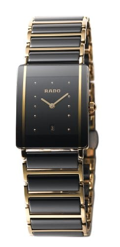 Rado Montre bracelet Femme, Céramique, couleur: noir