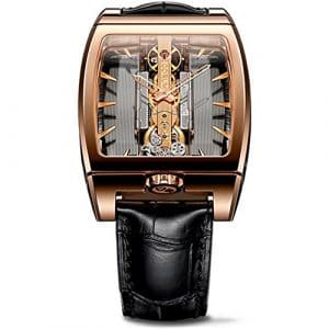 CORUM GOLDEN BRIDGE FEMME 38MM AUTOMATIQUE MONTRE 313.165.55/0002 GL10R