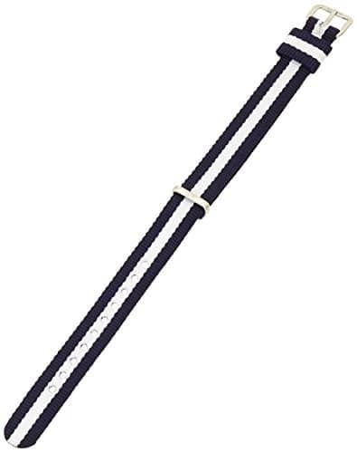 Daniel Wellington – 1028DW – Classy Glasgow – Bracelet de Montre Femme – Nylon Bicolore