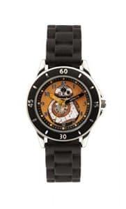 Star Wars SWM3046 Montre bracelet Garçon, Silicone, couleur: Noir