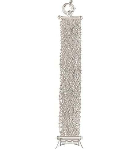 Swatch Skin bande de rechange manger tiality Argent 925(asfk159a)