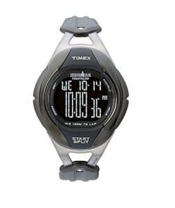 Timex – T49861D7 – Intelligent Quartz – Montre Homme – Quartz Analogique – Cadran Noir/Rouge – Bracelet Silicone Blanc