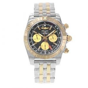 Breitling Chronomat 44GMT Cb042012/Bb86–375C Or rose 18K montre en acier et