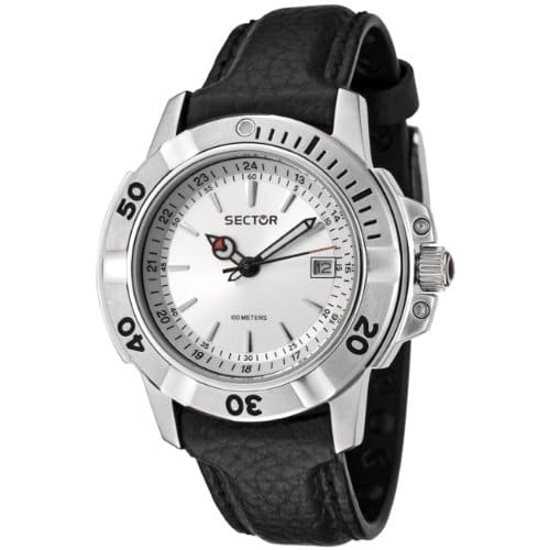 Sector – R3251240015 – Montre Homme – Analogique – Dateur – Bracelet Cuir