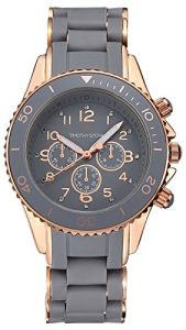 Timothy Stone Amber Montre Femme Gris, Or Rose