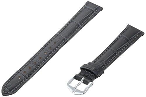 HIRSCH 010281–30–1414–mm cuir véritable alligator empreinte Watch Strap