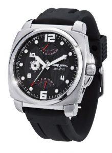 Jorg Gray – JG1040-20 – Montre Homme – Quartz Analogique – Bracelet Silicone Noir