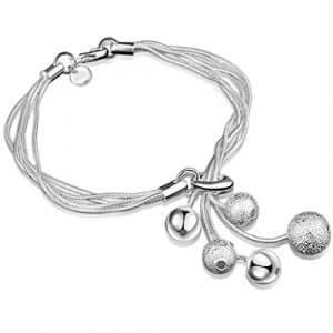 Hydaa Bijoux tendance Bracelet Perle charm Élégance pour fête Femme adolescents Filles cadeaux de Noël