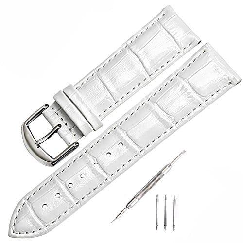 mysunny cuir v ritable bracelet de montre watch strap pour homme femme remplacement les montres. Black Bedroom Furniture Sets. Home Design Ideas