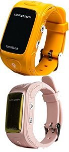 Santwissen Smartwatch (Yellow-pink)
