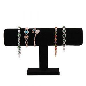 Generic T-Bar Bracelet Collier Bandeau Bracelet chaîne montre Bijoux Présentoir pour Home organisation et bijoux Store Support de présentation