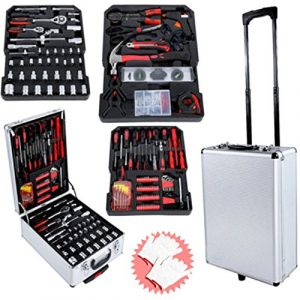 Generic * * Echanic KI Kits Box son BO Coque Organiser Ize Fonte chariot 2clés ZE Roulettes Outil de mécanicien chariot à roulettes Boîte à outils