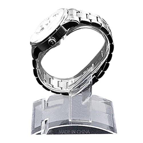 La montre-bracelet en plastique de bracelets montre le support de support