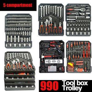 Generic. mécanique Outil de kit de KI mécanique Organiser SE Mec Roulettes Boîte à outils Boîte à outil de Stors Olley chariot.