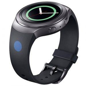 Sunnymi Smart Watch multifonctionnel imperméable pour adulte garçons et filles étudiant pour enfant électronique montres, extérieur, montres, cyclisme, montres de sport GPS pour Samsung, Noir