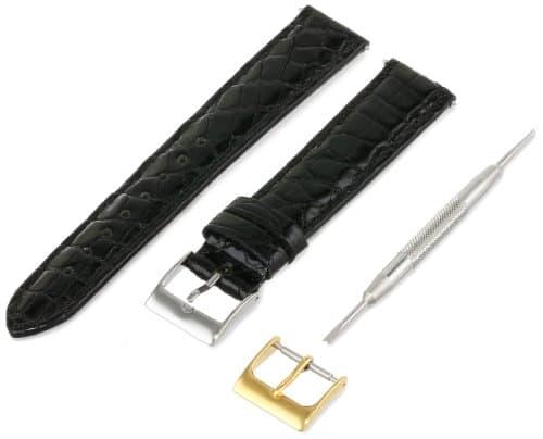 Artisan Italie citp D400–0117Mr Men 'kleid rembourré Croco Watch Strap 17mm