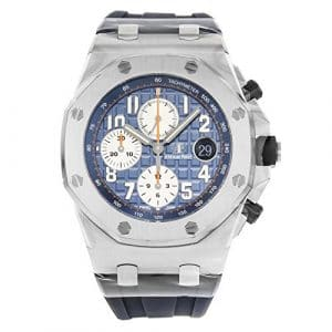 Audemars Piguet Royal Oak Offshore Cadran bleu chronographe montre pour homme 26470stooa027ca01