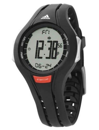 Adidas Performance – ADP1646 – Response light – Montre Sport Femme – Quartz Digitale – Bracelet en Plastique noir
