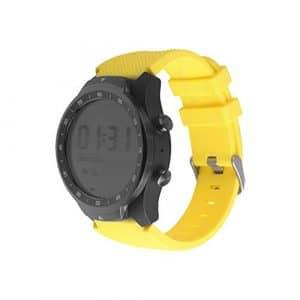 Alian Coque en Silicone Smart Sports Bracelet de Montre pour Ticwatch Pro Sangle