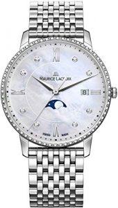 Maurice Lacroix Eliros 35mm Moonphase EL1096-SD502-170-1 Montre Bracelet pour Femmes