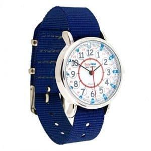 EasyRead time teacher ERW-RB-24-NBMontre pour enfants 12–24 heures, bleu marin (2 Couleurs disponibles)