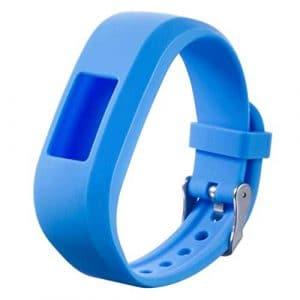 Garmin Vivofit Band, fittingran Remplacement Sport Bracelet en Silicone Watch Bracelet pour Garmin vivofit Jr Junior Kids Fitness Cielo Blu