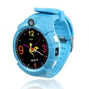无 Watch Smart Watch Kids Watch GPS en Temps Réel pour Les appels en Attente Lors de l'Anti-Lost