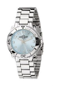 Chronostar – R3753200035 – Montre Mixte – Ligne Sportwear – Quartz Analogique – Cadran Bleu clair – Bracelet Acier
