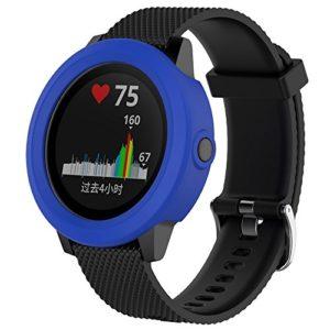 Garmin vivoactive3élégant bracelet de silicona-nueva lumière de mode bracelet bracelet de montre bracelet de montre intelligente xinan Bracelet/Bande/Band/Bracelet/Strap de remplacement Bleu profond