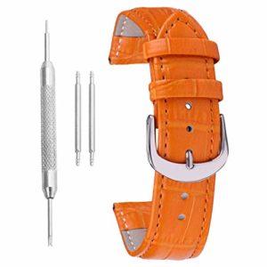 Bracelet Femme 14mm Cuir Montre Ceinture Bracelet de Rechange en Cuir de Bande de Montre Bracelet de Bonne qualité