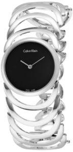 Calvin Klein Femme Montre Bracelet Quartz analogique en Acier Inoxydable K4G23121