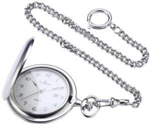 Dugena – 4460301 – Montre de poche Mixte adulte – Quartz – Analogique – Bracelet