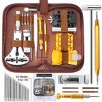 E·Durable 149pcs Réparation Montre Outil de réparation Professionnels Remplacement des Pile Outil Removaler Outil Barres de Ressort Épingles Kit d'outils