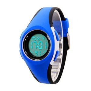etows garçons filles quartz montre numérique Sport LED Montre étanche 50 m étudiants Enfants 's montre poignet …