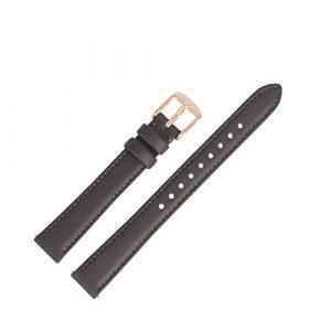Fossil – Bracelet de montre en cuir marron de 14 mm, ES-3707 | LB-ES3707