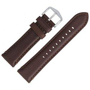 Fossil FS-4735| LB-FS4735 Bracelet de montre en cuir Marron 22 mm