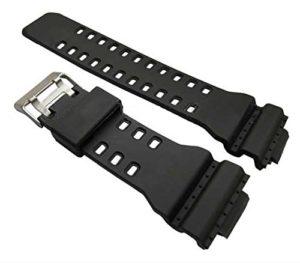GA-100en caoutchouc Noir Bracelet de montre de remplacement pour Casio G Shock GA100Generic Sangle